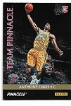 2013 Pinnacle Anthony Davis / Michael kidd Gilchrist team pinnacle dual sided rookie